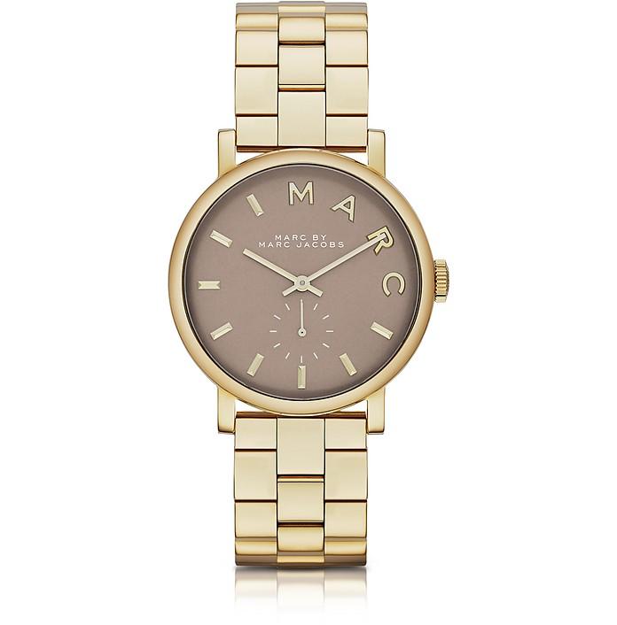 Baker Bracelet 36MM Gold IP Women's Watch - Marc by Marc Jacobs