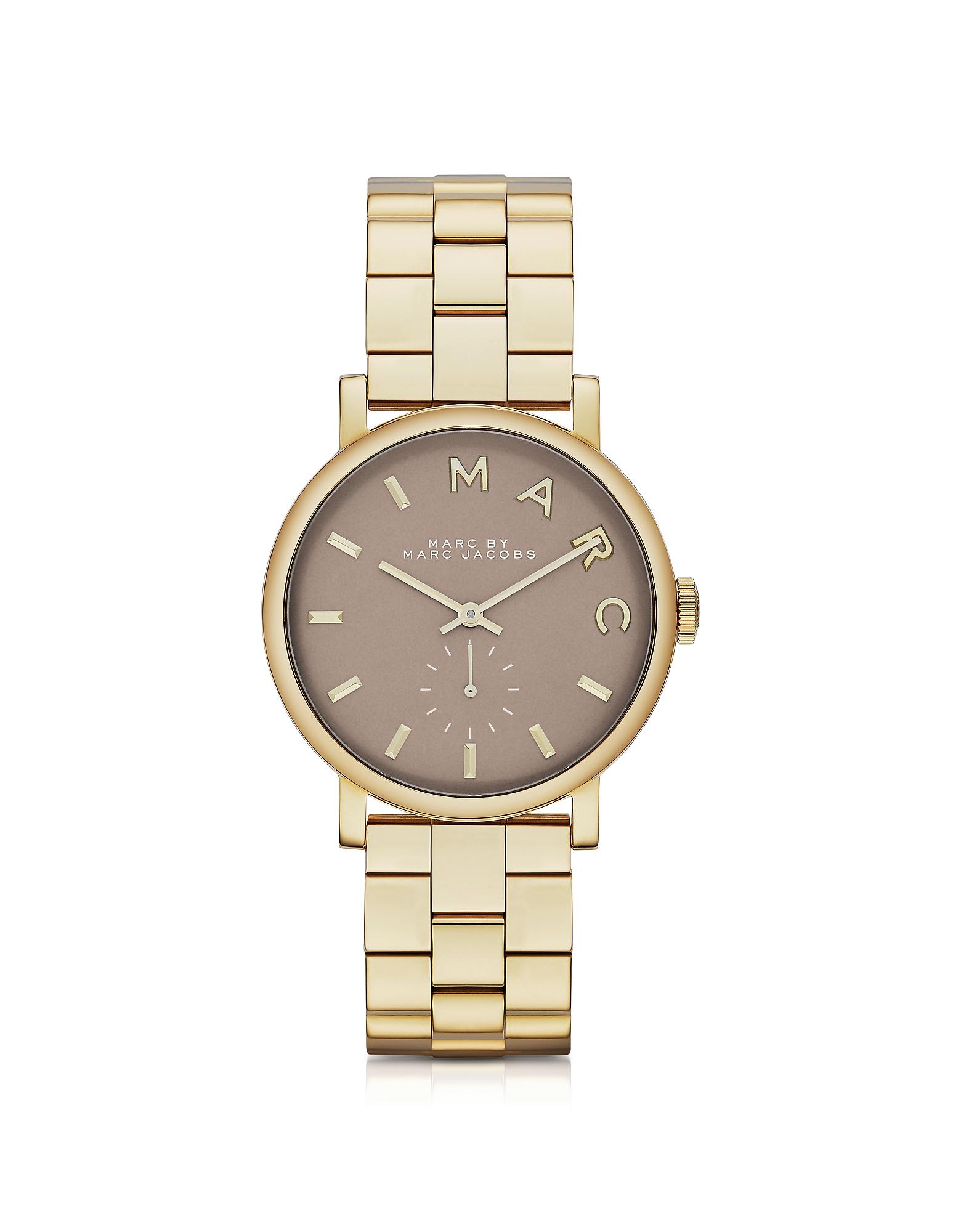 Baker 36MM- Позолоченные Женские Часы из Нержавеющей Стали