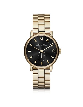 Marc by Marc Jacobs - Baker Golden Stainless Steel Classic Women's Watch