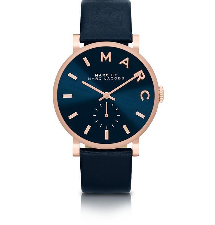 Baker Strap 36mm Navy Blue Women's Watch - Marc by Marc Jacobs