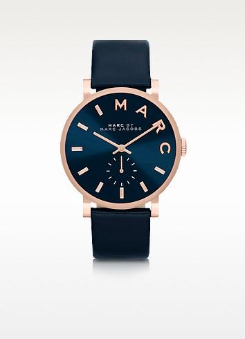Baker Strap 36mm Navy Blue Women's Watch - Marc by Marc Jacobs