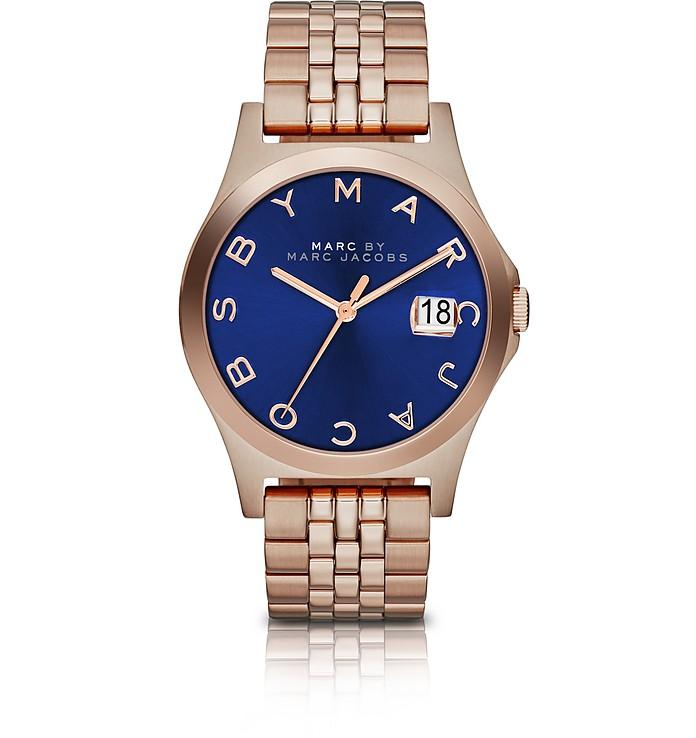 The Slim Bracelet 30MM Women's Watch w/Blue Dial - Marc by Marc Jacobs