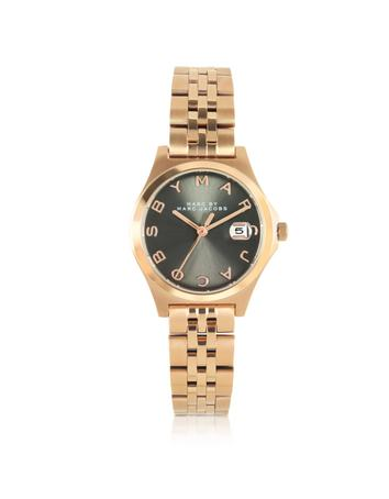 The Slim Bracelet 30MM Rose Gold Tone Stainless Steel Women's Watch