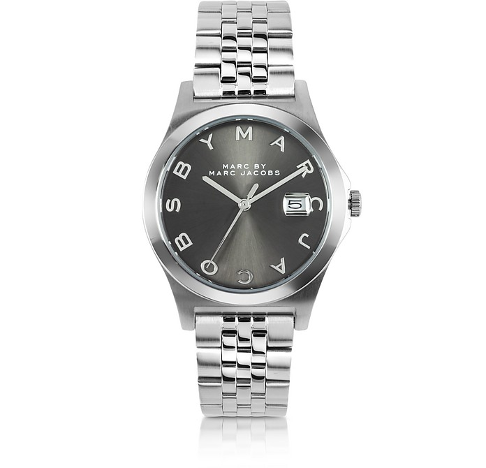 The Slim Bracelet 36MM Silver Tone Stainless Steel Women's Watch - Marc by Marc Jacobs
