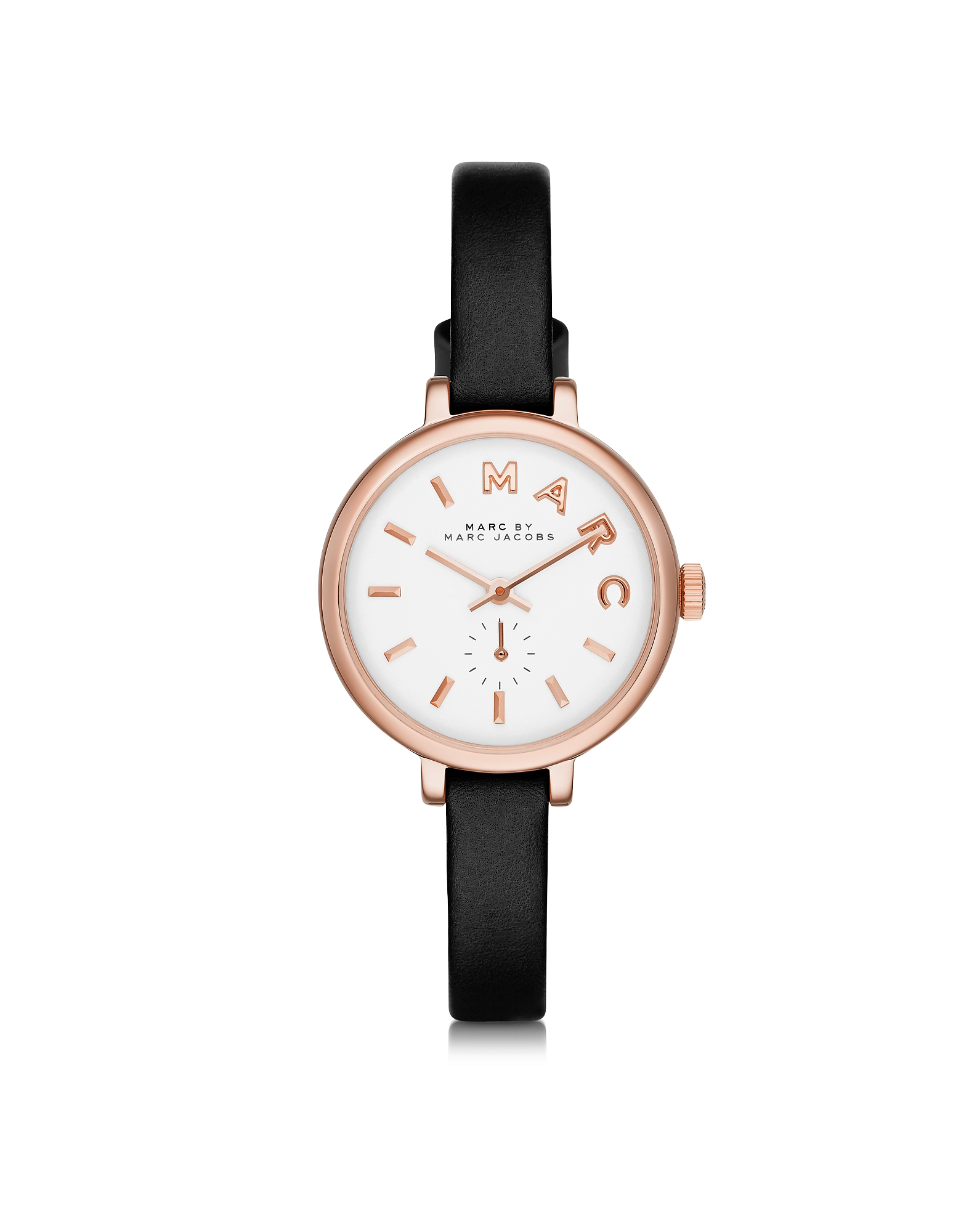 Marc by Marc Jacobs Women's Watches, Sally 28 MM Stainless Steel and Leather Strap Women's Watch