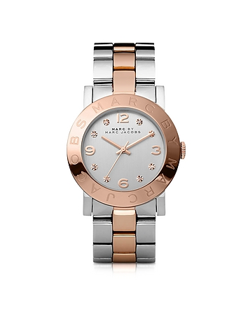 Marc by Marc Jacobs - Amy 36 MM Two Tone Stainless Steel Women's Watch