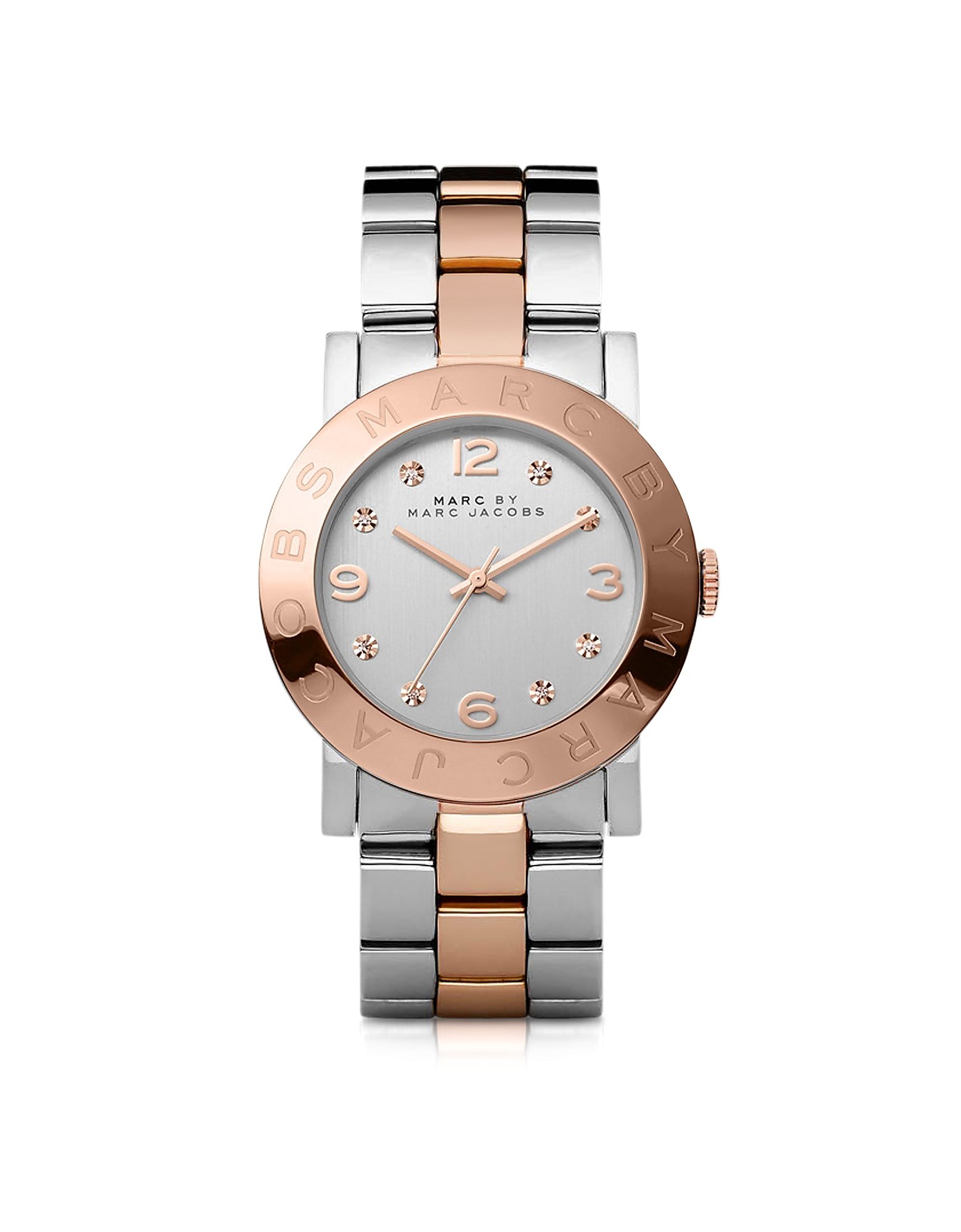 Marc by Marc Jacobs Women's Watches, Amy 36 MM Two Tone Stainless Steel Women's Watch