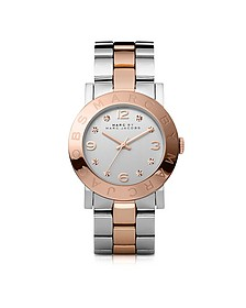 Amy 36 MM Two Tone Stainless Steel Women's Watch - Marc by Marc Jacobs