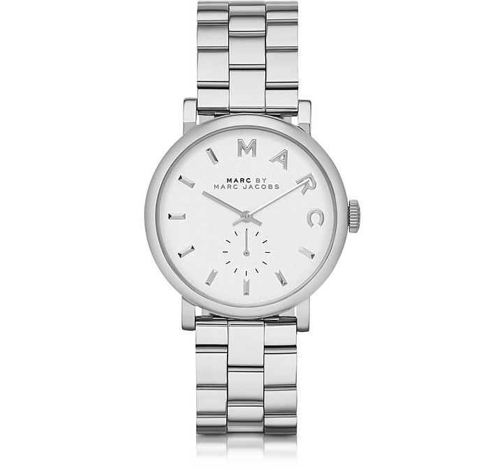 Baker 36MM Silver Tone Stainless Steel Women's Watch - Marc by Marc Jacobs