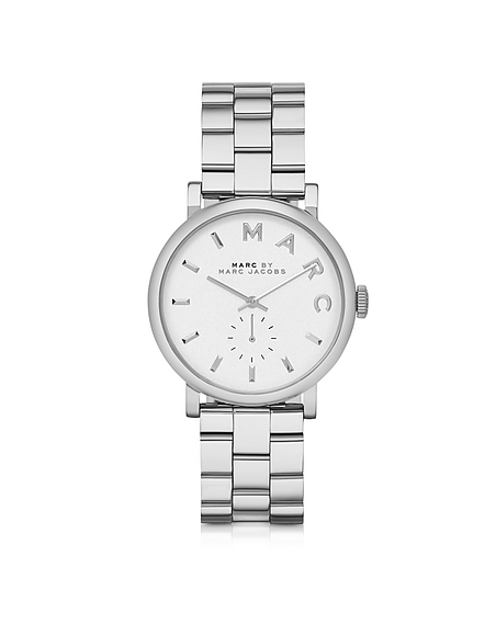 Foto Marc by Marc Jacobs Baker 33 MM Orologio in Acciaio Argento Orologi Donna