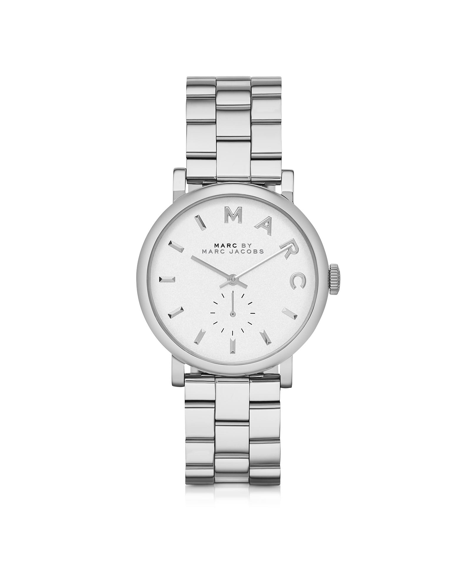 Baker 33MM - Серебристые Женские Часы из Нержавеющей Стали