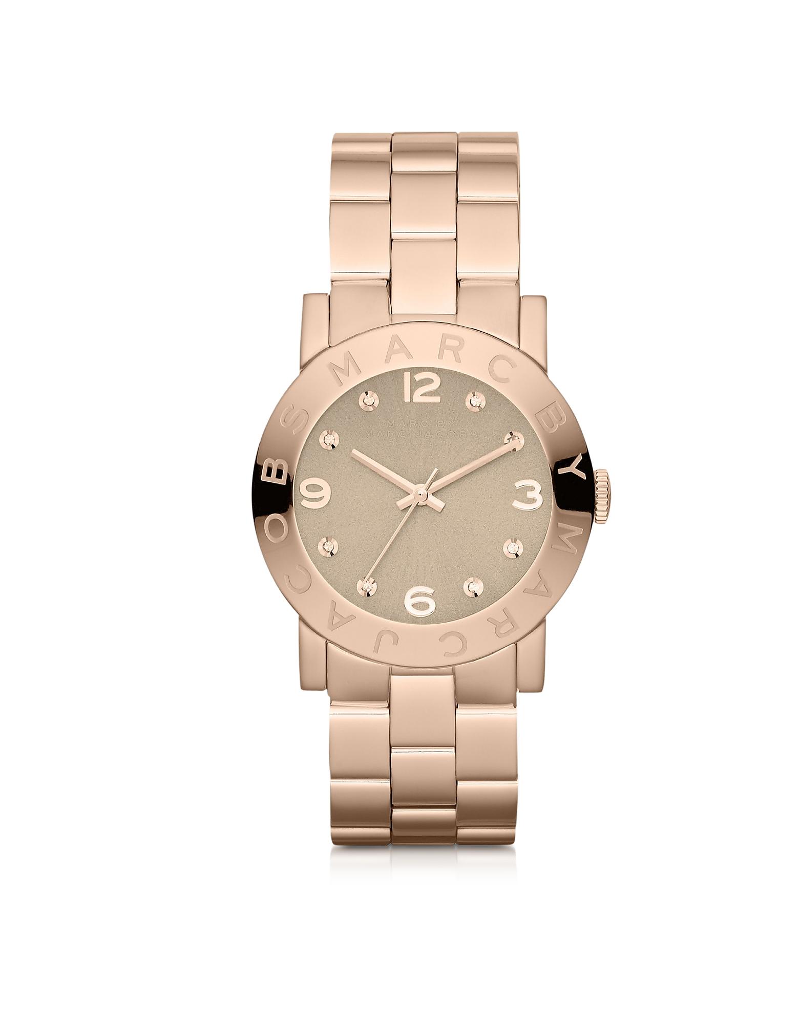 Amy 36,5 MM - Женские Часы из Нержавеющей Стали Оттенка Розового Золота