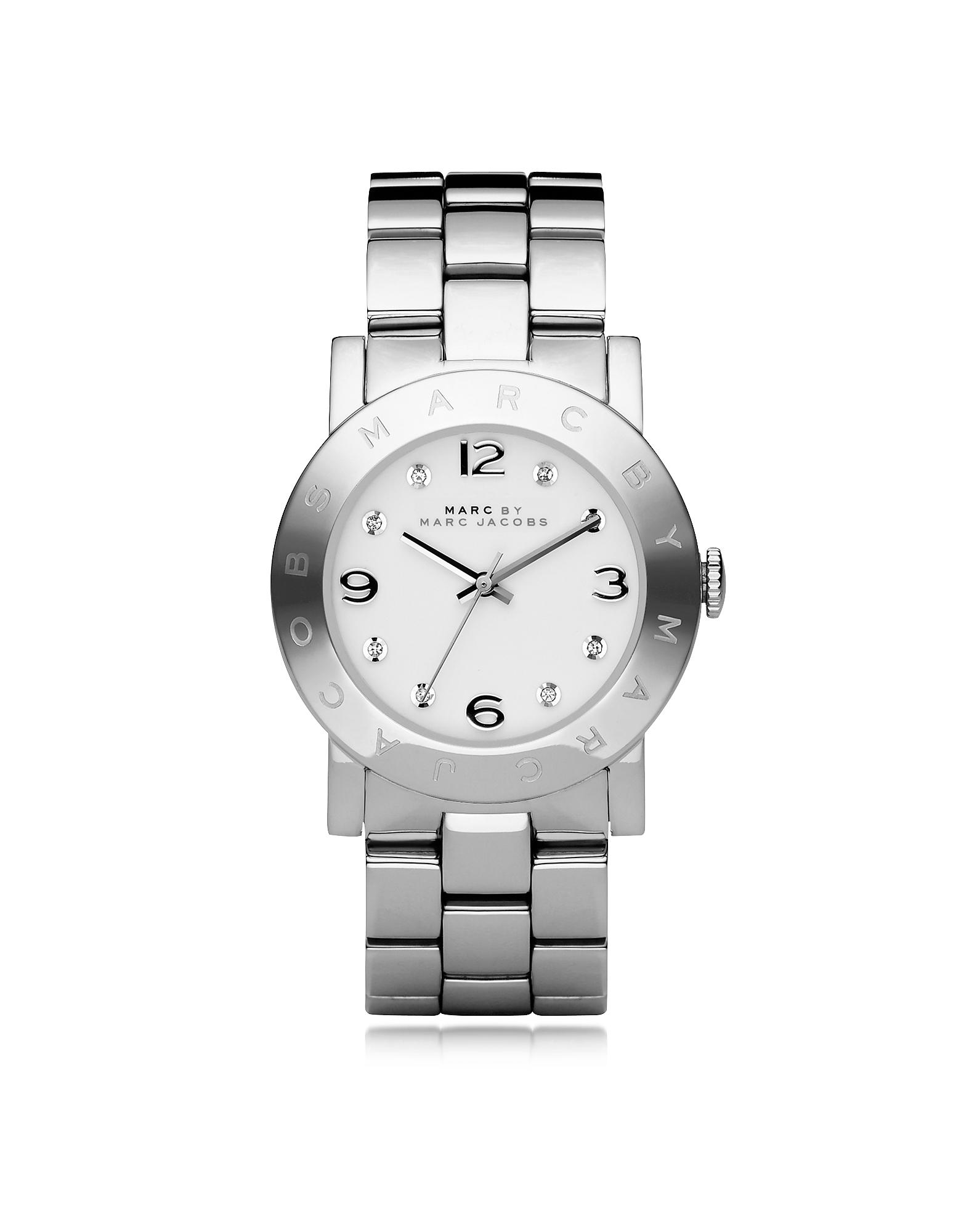 Amy 36 MM - Серебристые Женские Часы из Нержавеющей Стали