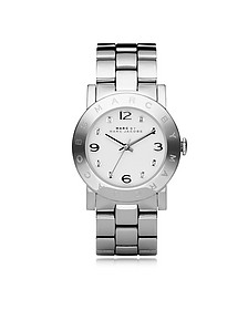 Amy 36 MM Silver Tone Stainless Steel Women's Watch - Marc by Marc Jacobs