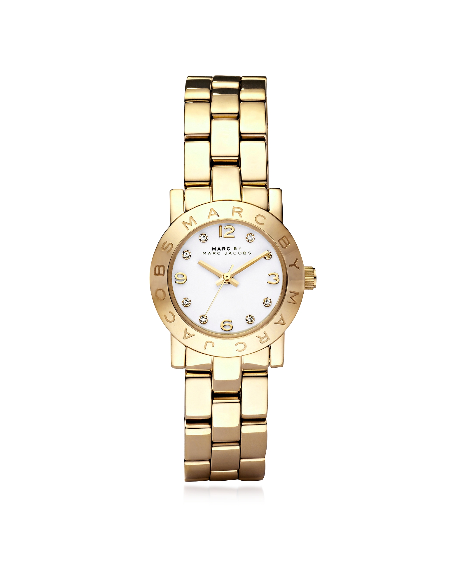 Marc by Marc Jacobs Women's Watches, Mini Amy 26 MM Gold Tone Stainless Steel Women's Watch