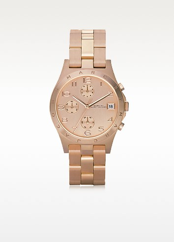Henry Chrono 36.5 MM Rose Gold Tone Stainless Steel Women's Watch - Marc by Marc Jacobs