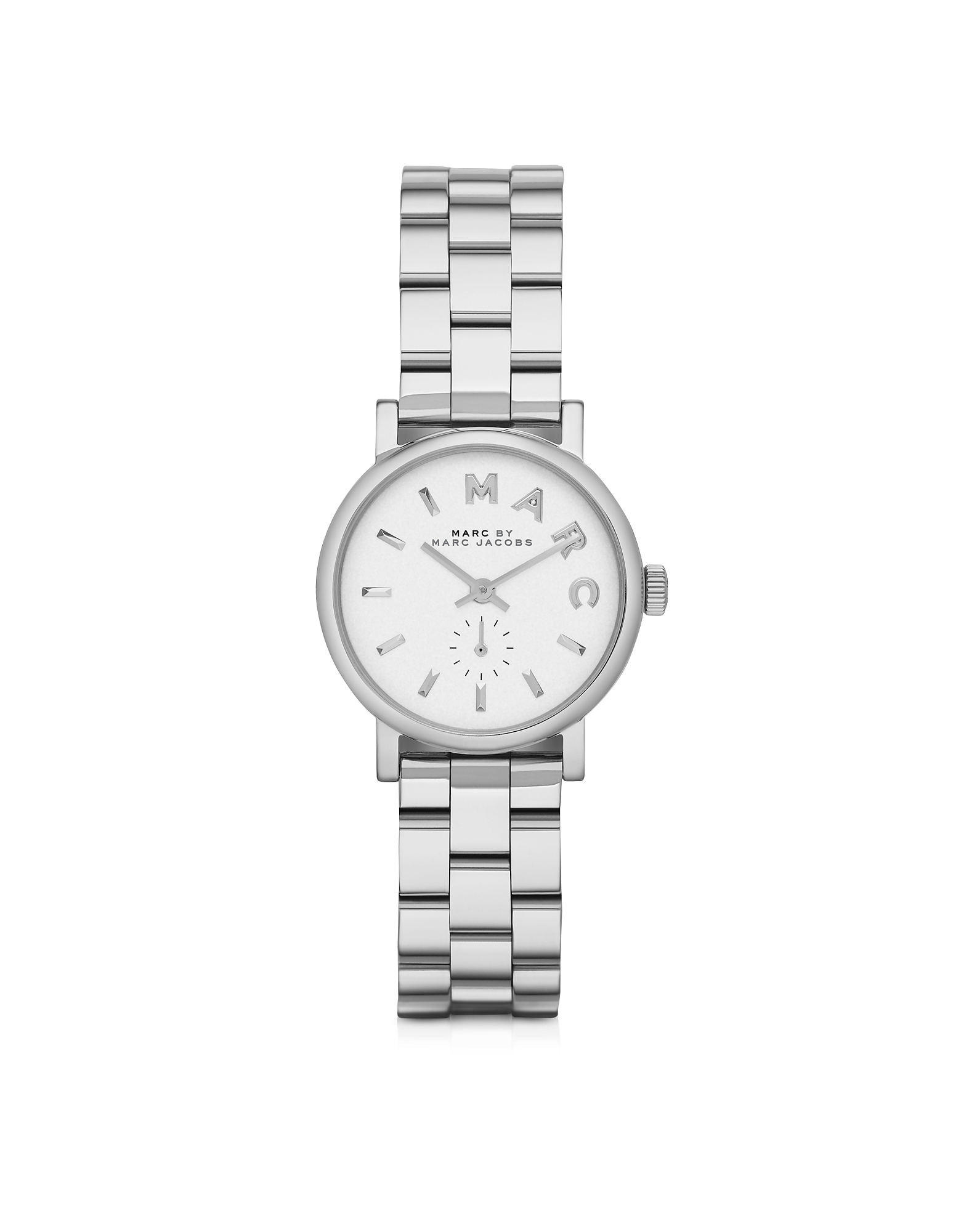 Marc by Marc Jacobs Women's Watches, Baker 28 MM Silver Tone Stainless Steel Women's Watch