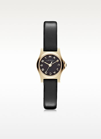 Henry Dinky 21mm Leather Strap Watch - Marc by Marc Jacobs