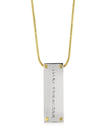 Foto Marc by Marc Jacobs Collana in Acciaio Id Pendant Collane