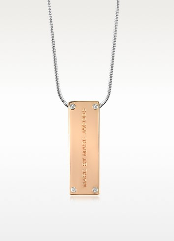 Id Pendant Necklace - Marc by Marc Jacobs