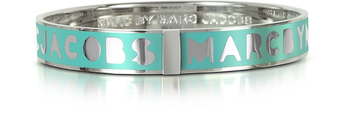 Aqua Lagoon Logo Bangle - Marc by Marc Jacobs