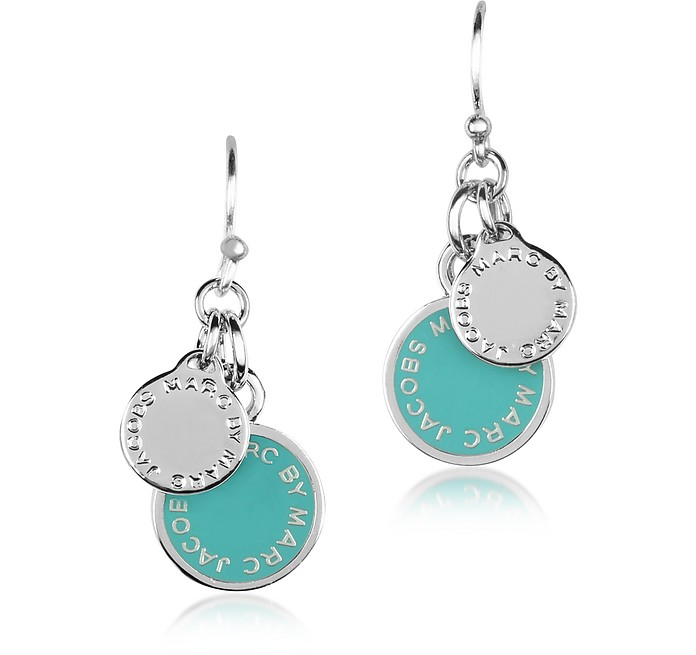 Enamel Discs Earrings - Marc by Marc Jacobs