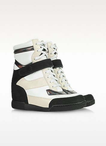 High Top Wedge Sneakers - Marc by Marc Jacobs
