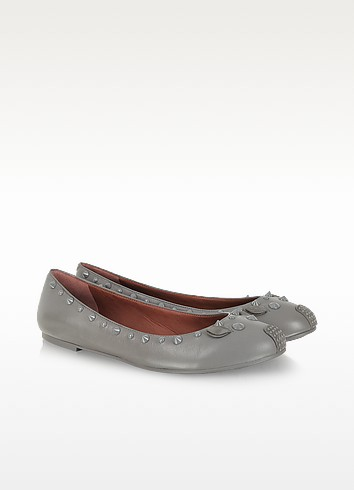 Studded Leather Punk Mouse Ballerina Flat - Marc by Marc Jacobs