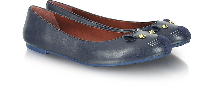 Blue Mouse Ballerina Flat - Marc by Marc Jacobs