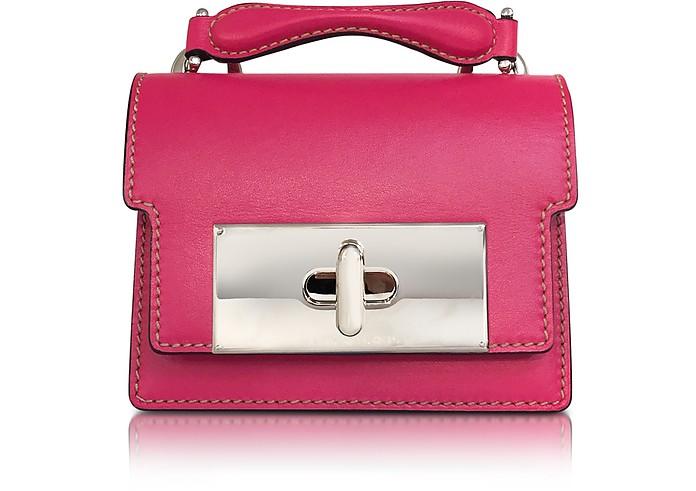 Shameless Pink Leather Mini Mischief Handbag - Marc Jacobs