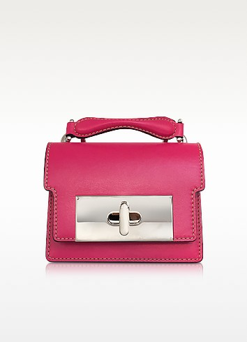 Shameless Pink Leather Mini Mischief Handbag - Marc Jacobs