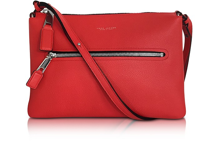 Textured Leather Incognito Double Pochette - Marc Jacobs