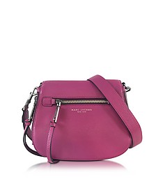 Recruit Wild Berry Leather Small Saddle Bag - Marc Jacobs