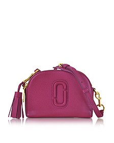 Shutter Wild Berry Leather Small Camera Bag - Marc Jacobs