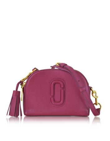 marc jacobs female shutter wild berry leather small camera bag