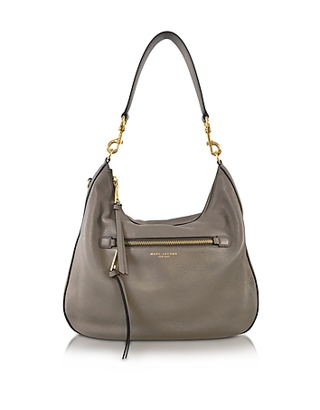 Marc Jacobs - Recruit Mink Leather Hobo Bag