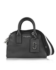 Gotham City Black Leather Small Satchel Bag - Marc Jacobs