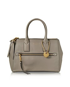 Recruit East West Mink Leather Tote - Marc Jacobs