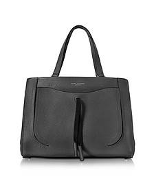 Maverick Black Leather Tote Bag - Marc Jacobs