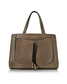 Maverick Teak Leather Tote Bag  - Marc Jacobs