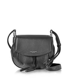 Maverick Black Leather Mini Shoulder Bag - Marc Jacobs