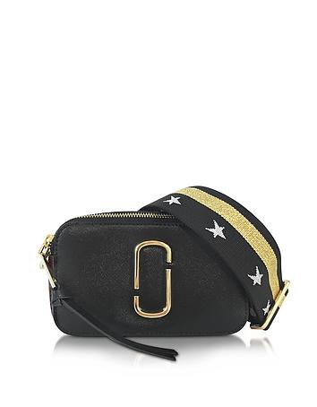 Marc Jacobs Snapshot Camera Bag Borsa con Tracolla in Pelle Saffiano Color Block
