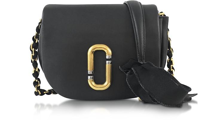 Kiki Black Leather Shoulder Bag - Marc Jacobs