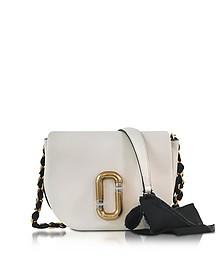 Kiki Dove Leather Shoulder Bag  - Marc Jacobs