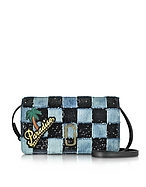 Marc Jacobs Pochette in Denim e Micro Paillettes - marc jacobs - it.forzieri.com