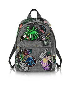 Paradise Black Biker Backpack - Marc Jacobs