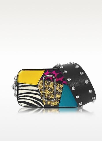 Snapshot Punk Patchwork Leather Camera Bag w/Shoulder Strap - Marc Jacobs