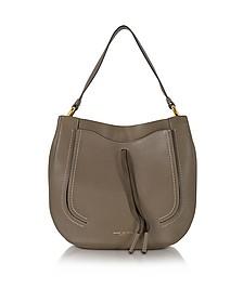 Maverick Teak Leather Hobo Bag - Marc Jacobs