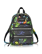 Marc Jacobs Biker Mini Zaino in Nylon Stampa Tropicale - marc jacobs - it.forzieri.com