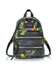 Parrot Printed Biker Mini Backpack - Marc Jacobs